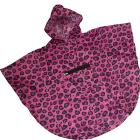 Wildkin Pink Leopard Stay Dry Poncho Ages 4-7