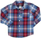 OshKosh B'gosh Plaid Poplin - Red/Blue