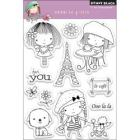 Penny Black 'Mimi In Paris' Clear Stamps Sheet