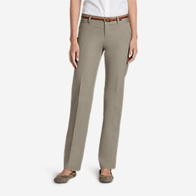 Women's StayShape® Straight Twill Pants -