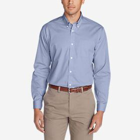 Men's Wrinkle-Free Classic FIt Pinpoint Oxford