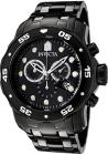 Invicta Men's Pro Diver Chronograph Black IP Steel