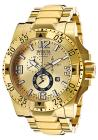 Invicta Men's Excursion Chronograph 18K Gold Plate