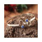 Sterling Silver 'Opposites Attract' Lapis Lazuli B