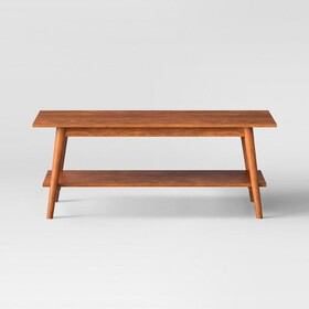 Foremost Porter Mid Century Modern Coffee Table -