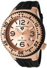 Swiss Legend Neptune (48 mm) Rose-Tone Case Black