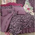 No Brand Twin XL Zebra Print Bed-in-a-Bag - Pink/B