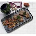 CHEFS DESIGN Non-Stick Double Burner Reversible Gr