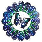 Terra Decor Butterfly - Blue (Medium)