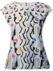 Peter Pilotto abstract print top