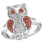 Target 1/4 CT. T.W. Round-Cut Red and White Diamon