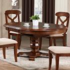 Sunset Trading Andrews Pedestal Oval Dining Table