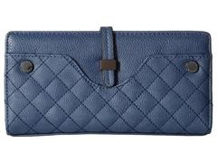 Steve Madden Hasp Tab Wallet Quilted