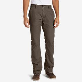 Men's Lined Canvas Mountain Pants