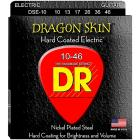 DR Strings DSE-10 Dragon Skin Coated Medium Electr
