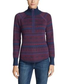 Women's Engage Fair Isle 1/4-Zip Sweater
