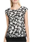 VINCE CAMUTO Cap Sleeve Sequin Blouse