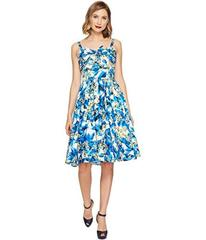 Unique Vintage Golightly Bow Swing Dress