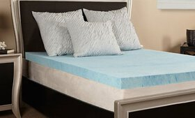 "Lux Comfort 3"" Gel Memory Foam Mattress Topper"
