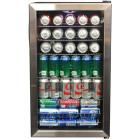New Air 126-Can Stainless Steel Beverage Cooler