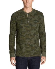 Men's Eddie's Favorite Thermal Henley - Pr