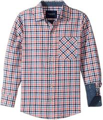 Toobydoo Stylin! Check Flannel Shirt (Infant/Toddl