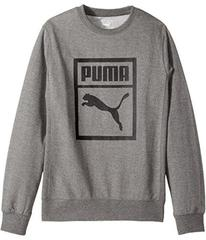 Puma Kids Cotton French Terry Crew Neck (Big Kids)