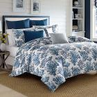 Cape Coral Blue Full/Queen Duvet Set