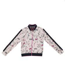 Juicy Couture Butterfly Garden Satin Track Jacket