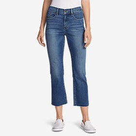 Women's Elysian Kick Flare Jeans - Slightly Cu
