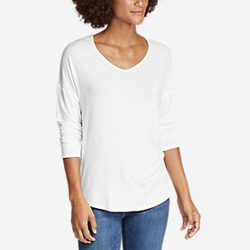 Women's Celestial Ultrasoft Long-Sleeve V-Neck