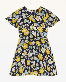 Juicy Couture Garden Floral Short Sleeve Dress for