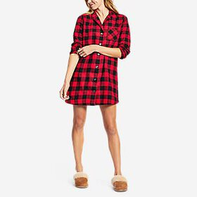 Women's Stine's Favorite Flannel Night Shi