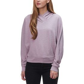 Stoic Texture Knit Cowl Pullover - Women's