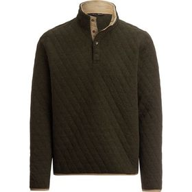 Stoic Quilted Cotton Pullover - Men's