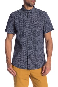 Ben Sherman Ditsy Floral Short Sleeve Union Fit Sh