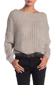 Dreamers by Debut Boatneck Knit Pullover