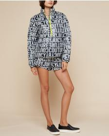 Juicy Couture JXJC Stenciled Juicy Puffer Jacket