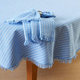 Windham Homespun Woven Tablecloth
