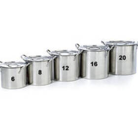 Stainless Steel Stockpot - 16 Quart
