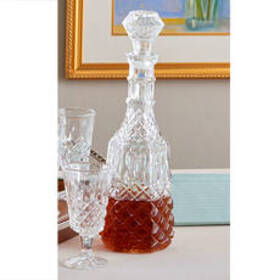 Studio Silversmiths Crystal Wine Decanter