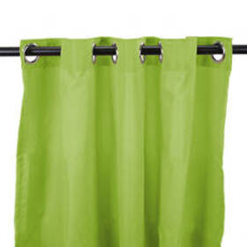 Jordan Manufacturing Outdoor Curtain Panel - Kiwi