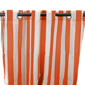 Jordan Manufacturing Outdoor Curtain - Tangerine S