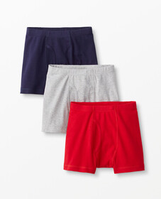 Hanna Andersson Boxer Briefs 3 Pack In Organic Cot