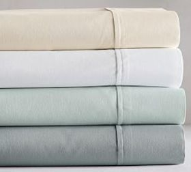 PB Essential 300-Thread-Count Fitted Sheet