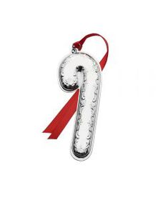 2018 Sterling Candy Cane Ornament 11th Anniversary
