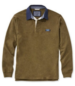 Lakewashed Rugby, Traditional Fit Long-Sleeve Soli