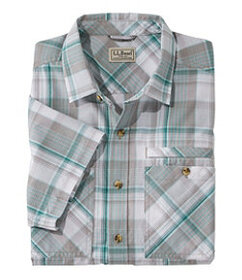 Men's Otter Cliff Short-Sleeve Shirt, Plaid