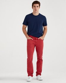 Total Twill The Straight with Clean Pocket in Roug