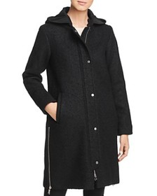 VINCE CAMUTO VINCE CAMUTO - Hooded Side Zip Coat